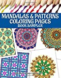 Mandalas & Patterns Coloring Pages Book Sampler
