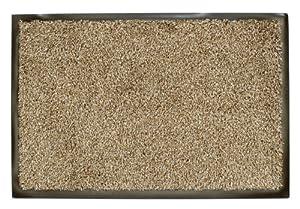 William Armes Dandy Washamat Doormat, 150 x 90 cm, Beige       Customer reviews