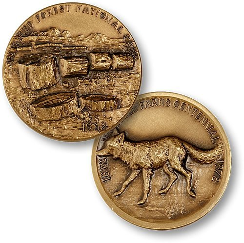 Petrified Forest National Park Coin - 1