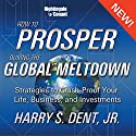 How to Prosper in the Global Meltdown: Strategies to Crash-Proof Your Life, Business, and Investments  by Harry S. Dent Narrated by Harry S. Dent