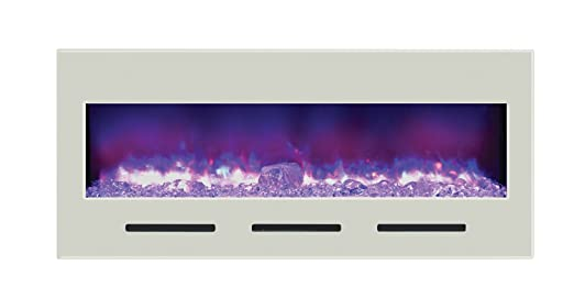 Amantii Fire and Ice Electric Wall Mount Fireplace
