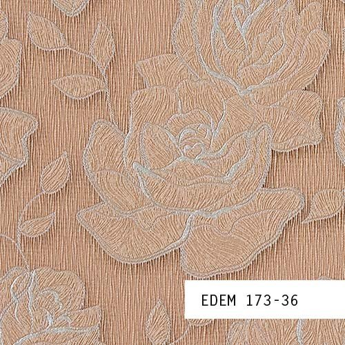Wallpaper SAMPLE EDEM 173-series | Design floral flower wallpaper - wallcovering , 173-XX:S-173-36