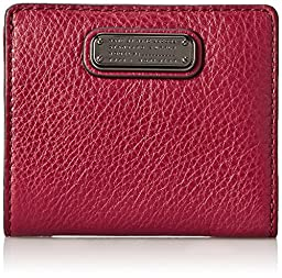 Marc by Marc Jacobs New Q Emi Wallet, Red Canyon, One Size