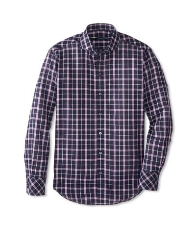 Zachary Prell Men's Thai Checked Long Sleeve Shirt