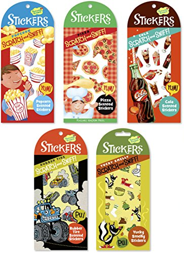 Peaceable Kingdom / Boy'S Scratch & Sniff Sticker Party Assortment front-791864