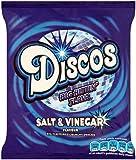 Discos Salt and Vinegar Flavour Crisps 28 G (Pack of 44)