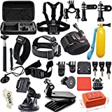 Soft Digits Accessories Kit for GoPro Hero4 Session Hero1 / 2 / 3 / 3Plus / 4 (46 Items)
