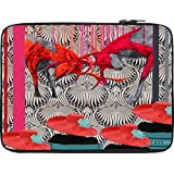 Snoogg Deer Fight 12 To 12.6 Inch Laptop Netbook Notebook Slipcase Sleeve