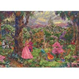 MCG Textiles 52508 Piece Disney Dreams collection Sleeping Beauty Counted Cross Stitch Kit Item , Multi-Colored