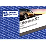 Avery Zweckform 222 - Libro de ruta en dos hojas (DIN A6, 40 hojas, en alemán)
