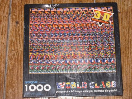 Springbok 3-D Sensations World Class 1000 Piece Puzzle