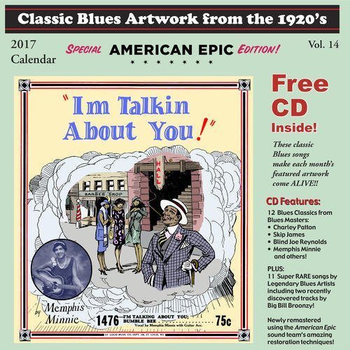 Classic Blues Artwork From the 1920s Calendar
