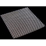 8 Mesh Woven Wire Mesh 30cm x 30cm (Stainless Steel) (x1 Sheet)