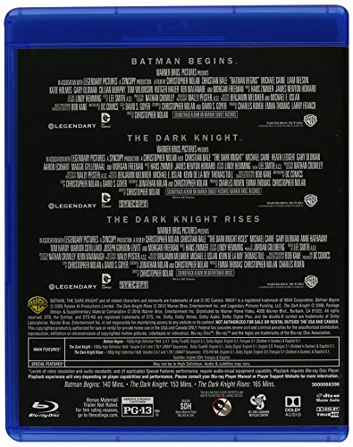 The Dark Knight Trilogy Special Edition (BD) [Blu-ray] at Gotham City Store