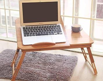 SBWYLT-Moda portatile scrivania comodino tavolo pieghevole di pigrone semplice tavolino libro B