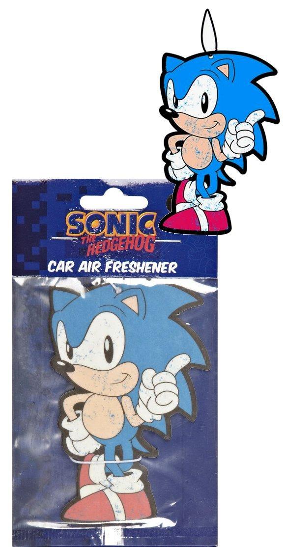 Sonic the Hedgehog ambientadores  Coche y moto Comentarios y descripción más