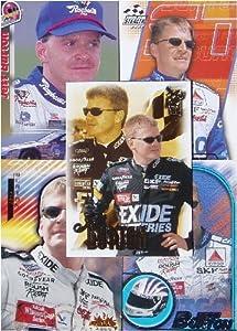 Jeff Burton 25-card set with 2-piece acrylic case by NASCAR