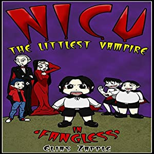 Nicu - The Littlest Vampire in 'Fangless' Audiobook