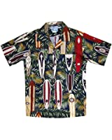 RJC Boy's Surfboard Galore Hawaiian Shirt