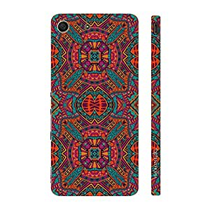 Enthopia Designer Hardshell Case Kaleidoscope Back Cover for Sony Xperia M5