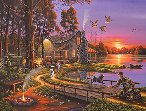 Puzzle Collector Art 500 Piece Puzzle - An Early Surprise - 1