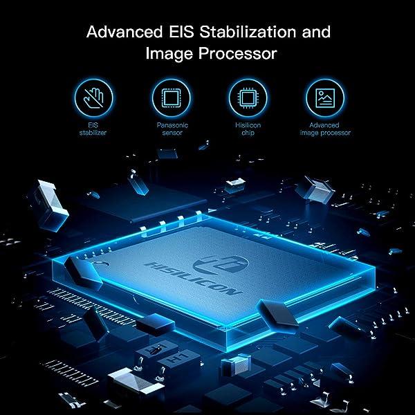 CÁMARA DE ACCIÓN 4K NATIVA APEMAN TRAWO, con 4K EIS, imágenes nítidas de 20MP, pantalla IPS de 2 '', WiFi, mayor duración de la batería