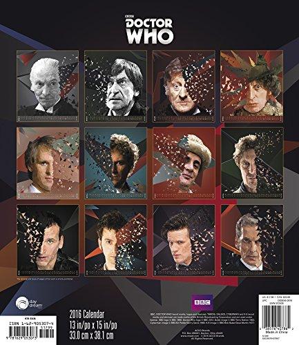 Doctor Who 2016 Calendar
