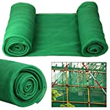 Tinkertonk Debris Scaffold Netting Plant Fence Garden Crop Shade, 2M X 50M, Green