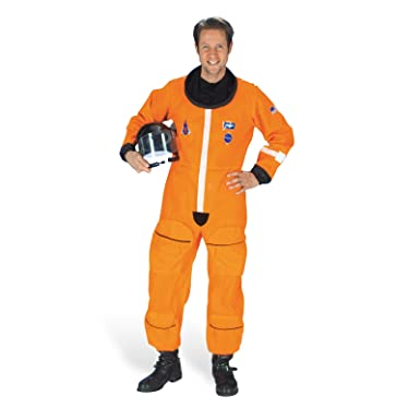 kost m astronaut herren weltraum anzug overall leuchtstreifen gr. Black Bedroom Furniture Sets. Home Design Ideas