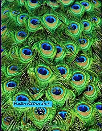 Feathers Address Book: Big Print Address Book
