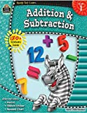 Addition & Subtraction, Grade 1 (Ready-Set-Learn)