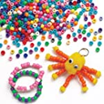 Pack �conomique de perles color�es -...