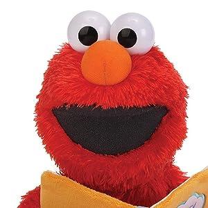 Sesame Street Nursery Rhyme Elmo 15 Plush (Color: Red, Tamaño: 15 inches)
