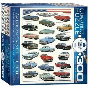 Amazon.com: Amerikanische Autos der 50er Jahre - 300 Teile Hochformat