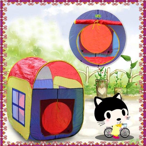 8025 子供用可愛いテント ルーム キッズテント ベビー&キッズ♪室内用/室外用/おもちゃ/おままごと/テントハウス/秘密基地/知育玩具 並行輸入品