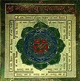 Exotic India Maha Mrityunjay Yantram - Brass