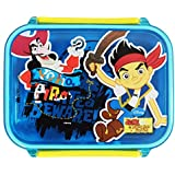 Disney Jake And The Never Land Pirates Rectangular Shaped Lunch Box, BPA Free, 400ml, Multi-color