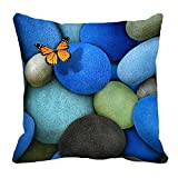 meSleep Butterfly 16x16 inch 3D Cushion Cover