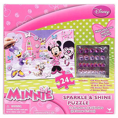 Disney Minnie Sparkle & Shine Puzzle - 1