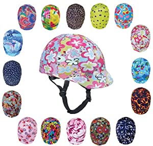 Zocks Helmet Covers Pink Funky Power