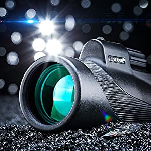 USCAMEL® Compact Hunting Monocular Scope Waterproof Telescope 10x Optics Zoom by USCAMEL
