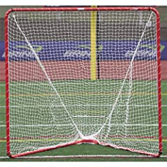 Click here to buy Brine Backyard Lacrosse Goal, 1.5-Inch Frame 8-Piece 200Lpn, Net Included (6 x 6 x... by Brine.