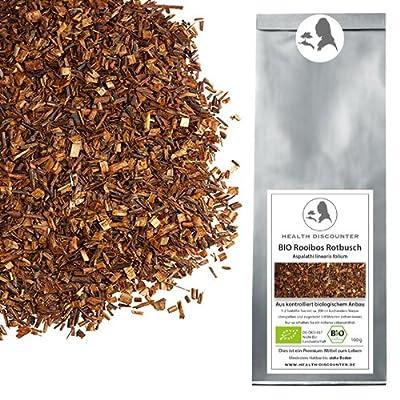 Health Discounter   BIO Rotbusch Tee geschnitten - Premium Roibusch kbA - 1000g