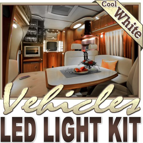 16.4' Ft Cool White Boat Yacht Cabin Bath Led Backlight Night Light Dimmable Remote Control Kit - Motorhome Lighting, Boat Cabin Lighting, Yacht Lighting, Compartment Lighting, Interior Lighting Led Reading Light Strip Night Light Lamp Bulb Accent Lights