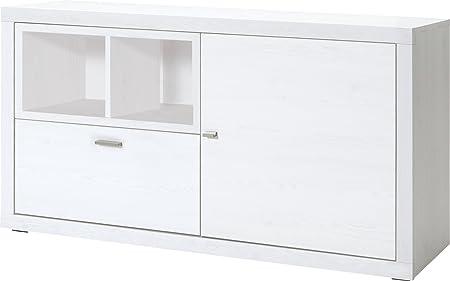 CS Schmalmöbel 89.156.156/20 TV-Möbel / Sideboard, Holz, sibiu lärche, 139 x 42 x 77 cm