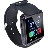 TLD Retail U8 Bluetooth Smart Watch (Black)
