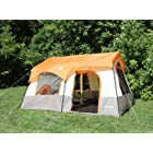 Tahoe Gear Ottawa 12 Person Cabin Frame Family Tent