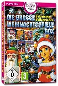 Die große Weihnachtsspiele Box