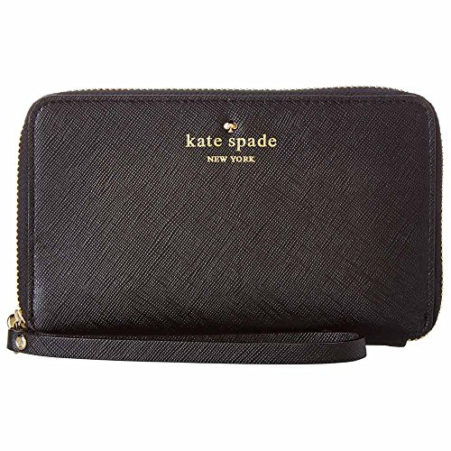 Kate Spade New York Cherry Lane Laurie Wallet,Black,One Size front-1027042