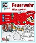 Mitmach-Heft Feuerwehr: Ausmalen, R�t...